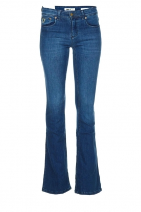 Lois Jeans | L32 Flared jeans Melrose - Leia teal wash | blauw
