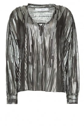 IRO |  Blouse with lurex Hathi | metallic