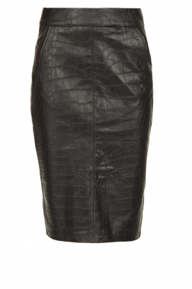 Arma | Leather skirt Jaliesa | black