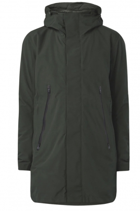 Krakatau |  Lined parka Urban chic | green