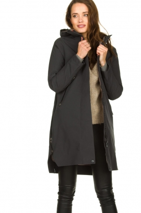 Krakatau |  Lined parka Urban chic | grey