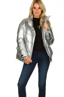 Krakatau |  Down jacket Micha | metallic