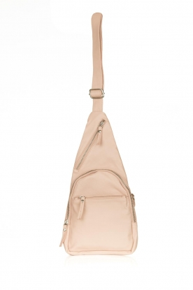 Est-Seven |  Leather shoulder bag Mirella | natural