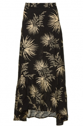 ba&sh | Skirt with print Edna | black
