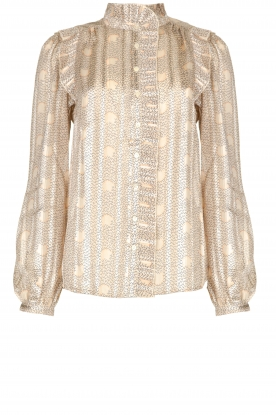 ba&sh |  Blouse with print Precious | beige