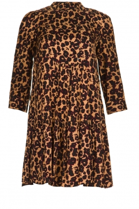 ba&sh |  Mini leopard print dress Tiana | animal print