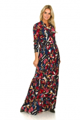 ba&sh |  Maxi dress with print Cora | multi