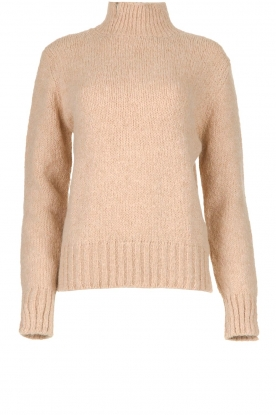 Knit-ted |  Knitted sweater Bonne | beige