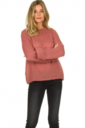 Knit-ted | Knitted sweater Becky | pink