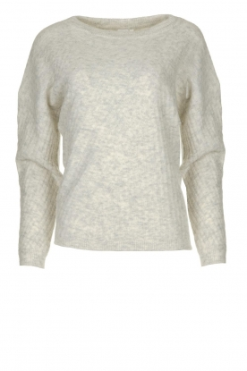 Knit-ted | Knitted sweater Simra | grey