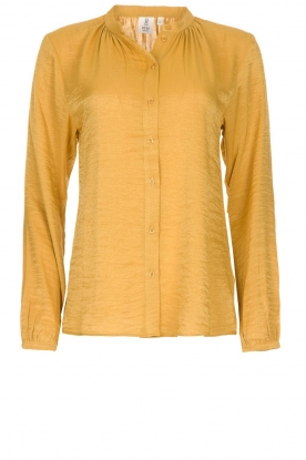 Knit-ted |  Sheen blouse Lana | gold