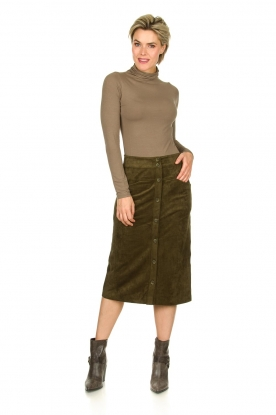 Knit-ted |  Skirt Aurora | green
