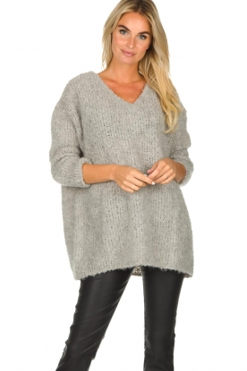 American Vintage | Oversized sweater Wilaland | grey