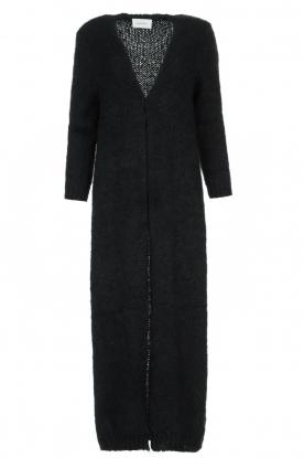 American Vintage |  Maxi cardigan Manina | black
