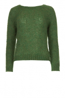 American Vintage | Knitted sweater Kiki | green