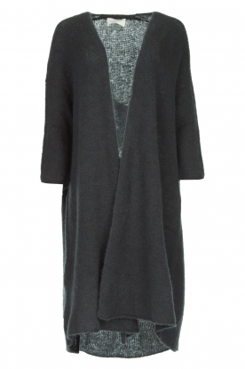 American Vintage |  Basic cardigan Vapcloud | grey