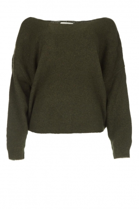 American Vintage |  Basic sweater Damsville | green