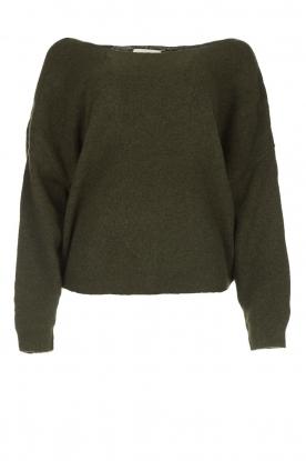 American Vintage |  Basic sweater Damsville | green