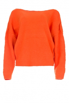 American Vintage |  Basic sweater Damsville | orange