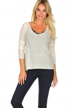 American Vintage | Woolen sweater Nani | natural