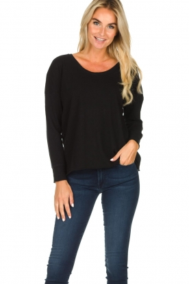American Vintage |  Basic top Sonoma | black