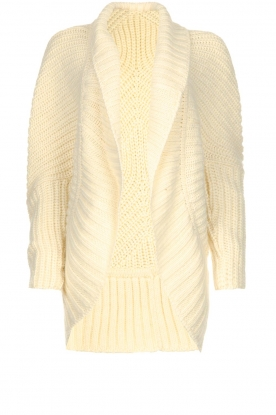 Rabens Saloner | Cardigan Becky | natural