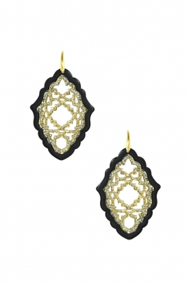 Miccy's |  Earrings Azizi - large | black
