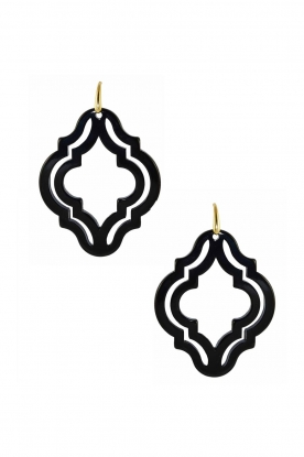 Miccy's |  Earrings Muscat | black