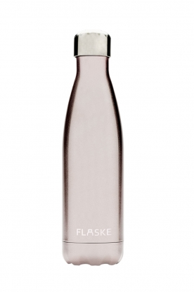 Flaske | Thermosfles Pearl warm/koud 500 ml | lichtroze