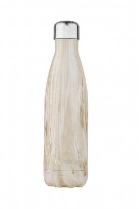 Flaske |  Insulated bottle Wood warm/cold 500 ml | natural