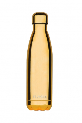 Flaske | Thermosfles Golden warm/koud 500 ml | goud