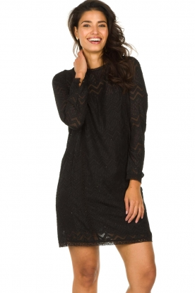 Freebird |  Lace dress Dena | black