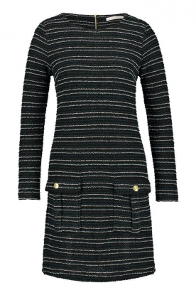 Freebird | Bouclé dress with lurex details Lizzy | black