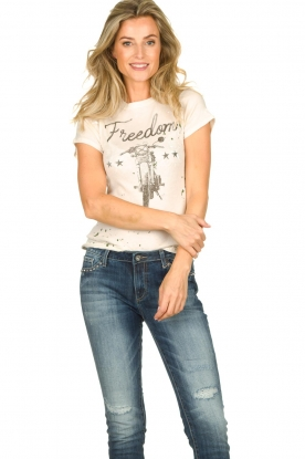 Chaser | T-shirt Freedom | natural