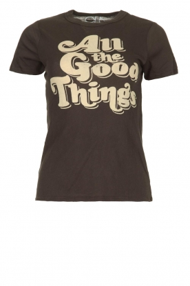 Chaser |  T-shirt with print Goodthings | black