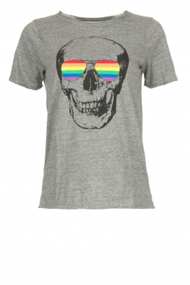 Chaser | T-shirt Rainbow | grey
