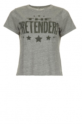 Chaser |  T-shirt with print Pretenders | grey