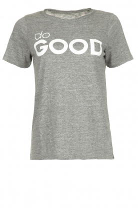 Chaser | T-shirt Do Good | grijs