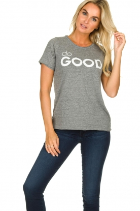 Chaser | T-shirt Do Good | grey