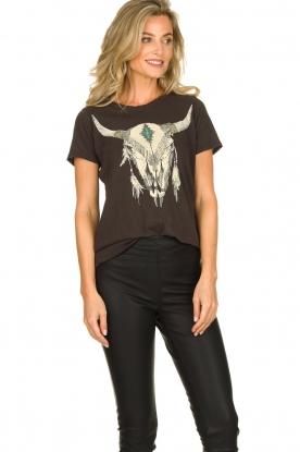 Chaser | T-shirt Skull | black
