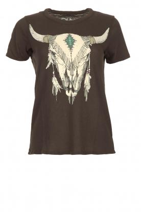 Chaser | T-shirt Skull | zwart