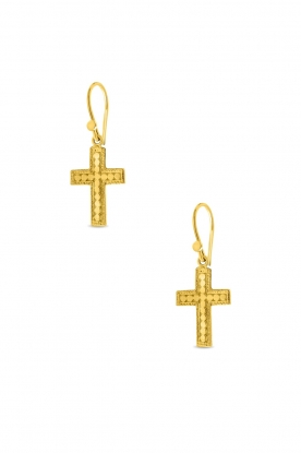 Close to Zen | 22K gold plated earrings Between Stars | gold