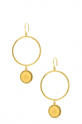 Close to Zen | 22K gold plated earrings Fairy Tails | gold