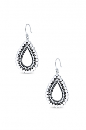 Close to Zen |  925 sterling silver earrings Sunflower - small | silver