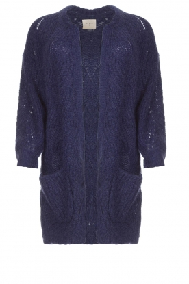 Dante 6 |  Knitted cardigan Encore | blue