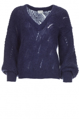 Dante 6 |  Knitted sweater Eras | blue