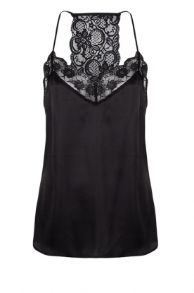 Dante 6 | Top with lace Moanna | black