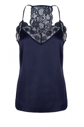 Dante 6 | Top with lace Moanna | blue