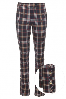 Dante 6 |  Checkered trousers Vato | blue