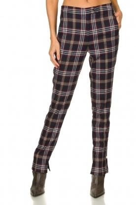 Dante 6 |  Checkered trousers Vato | blue